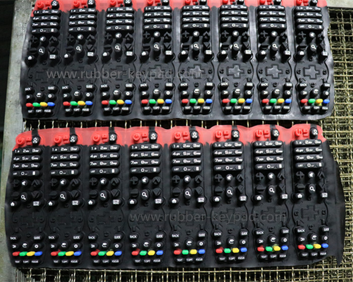 Silikondrucktastatur