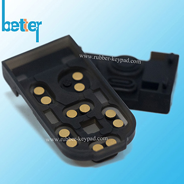 Metallpille Gummitastatur