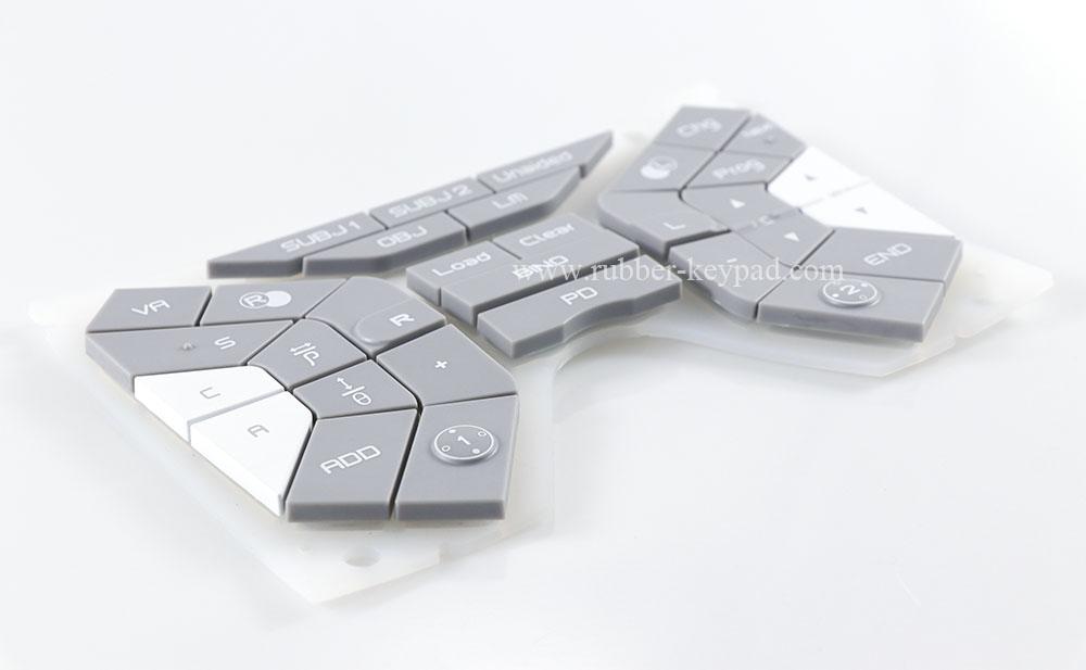 Kunststoff-Gummitastatur